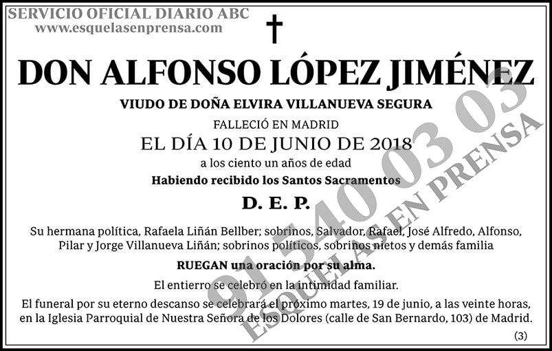 Alfonso López Jiménez